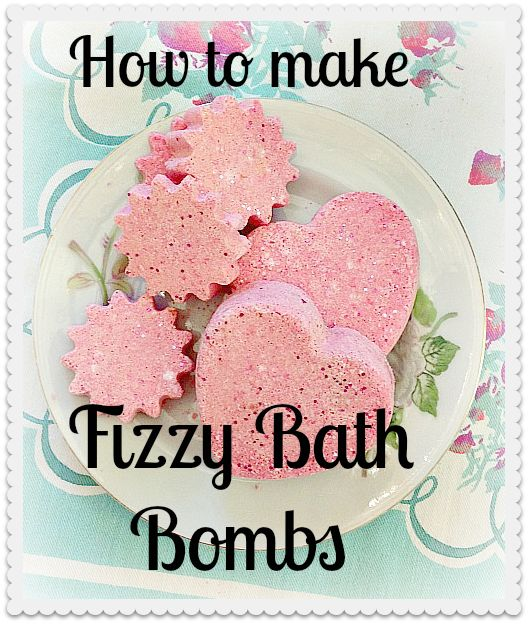 how to make fizzy bath bombs