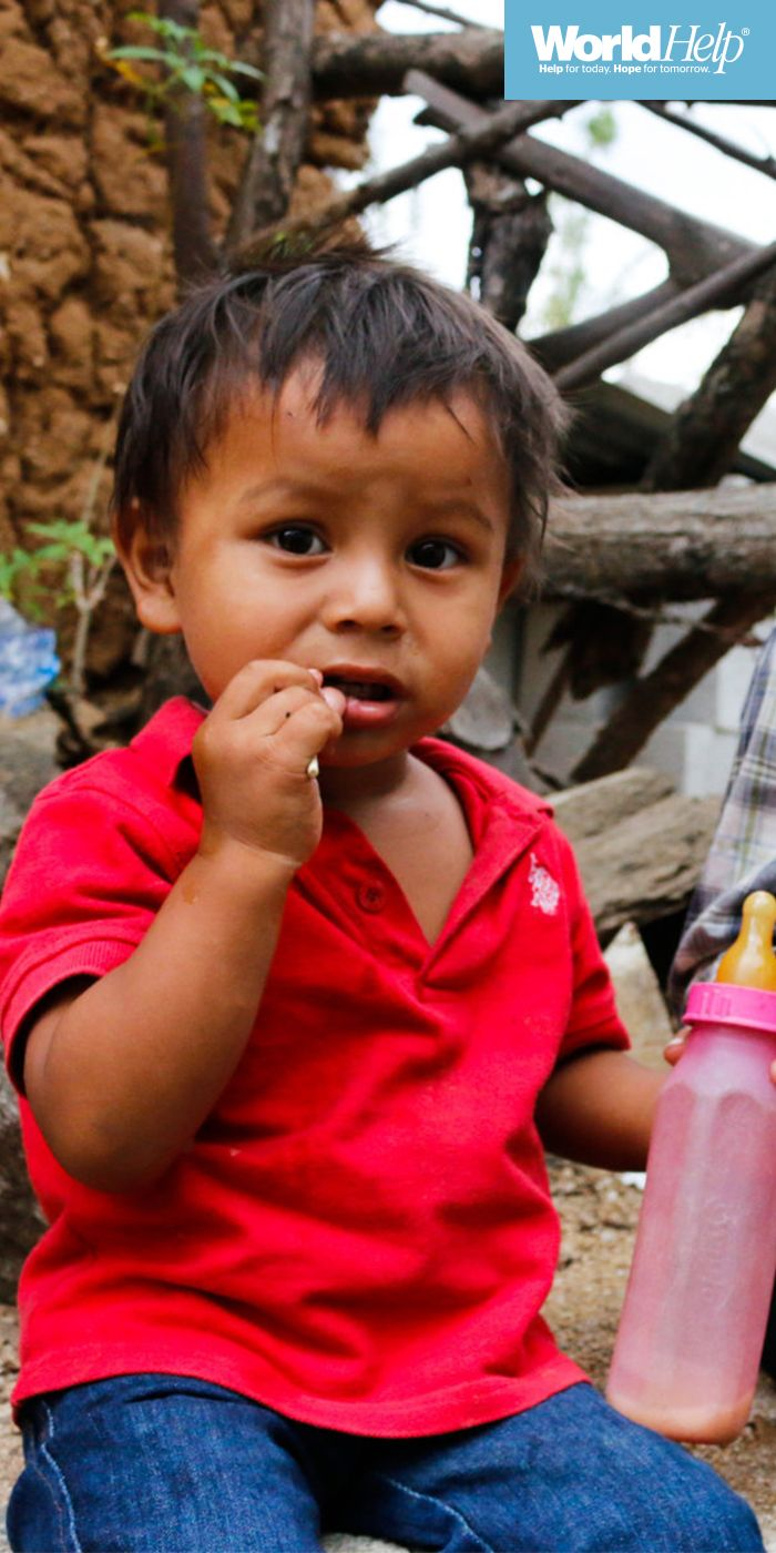 Child sponsorship is changing lives in Guatemala! Pic of the day 2017! // World Help