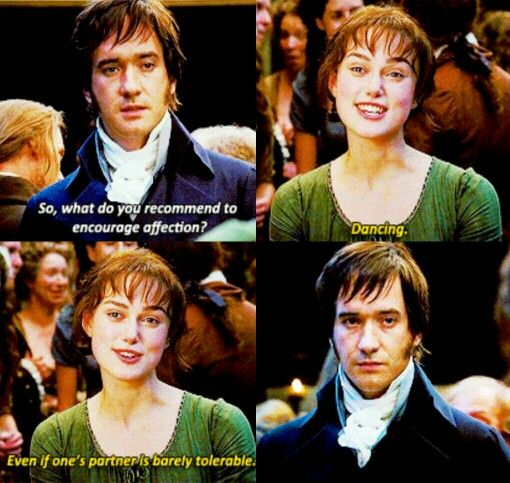the evolution of the relationship of the characters of elizabeth and darcy in pride and prejudice by Jane's sister elizabeth hates bingley's friend darcy for separating  characters, relationships and  project gutenberg lets you read pride and prejudice online.