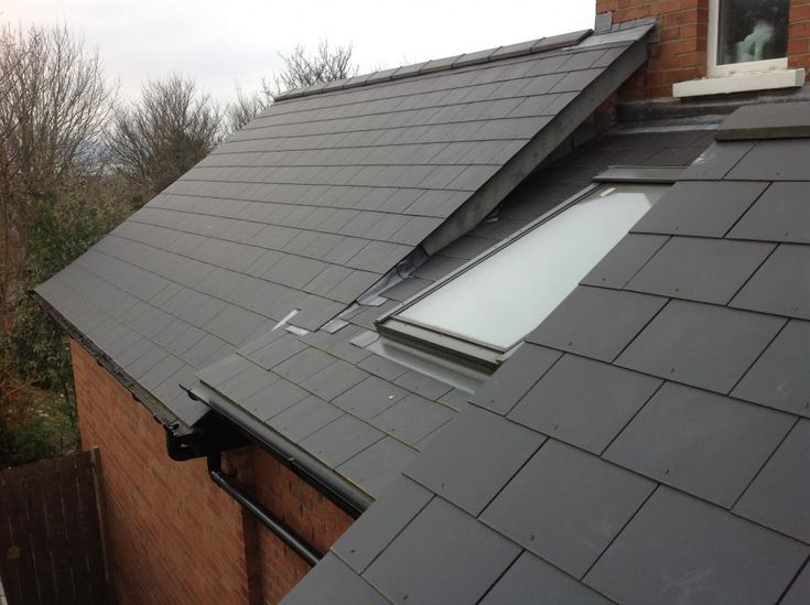Pitched Roof Window Junction Solution Roof Types