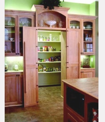 Hidden pantry house plans pinterest pantry and for Hidden pantry