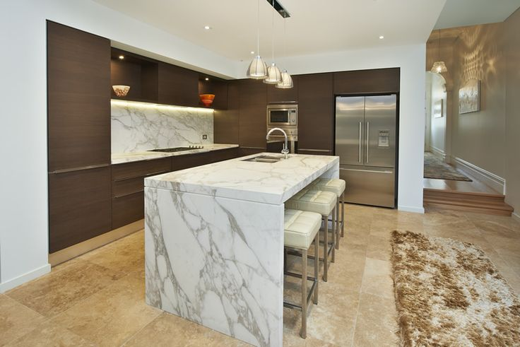 marble floors in kitchen calacatta brown marble search kitchen in the 7368