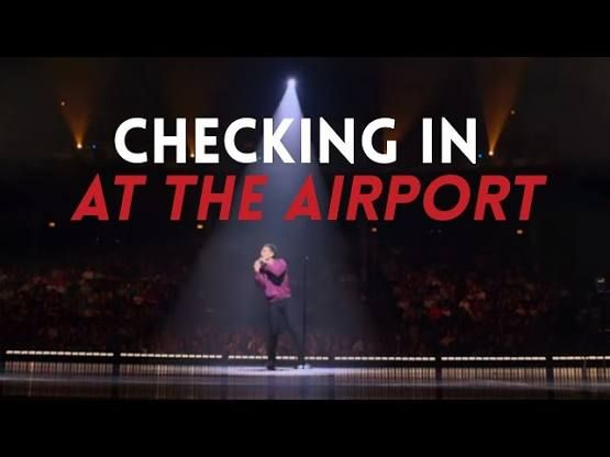 sebastian maniscalco airport check in - Google Search