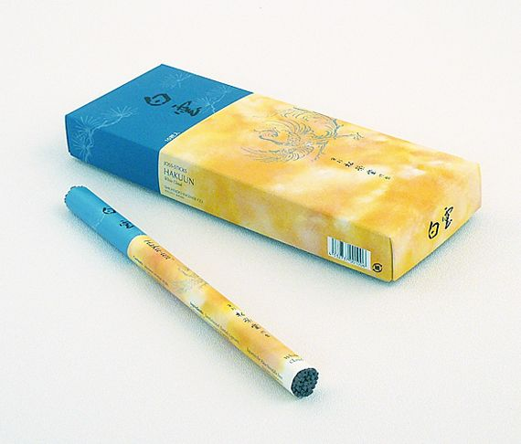 Ziji - White Cloud Incense, $12.50 (http://www.ziji.com/products/meditation-supplies/incense-burners/white-cloud-incense/)