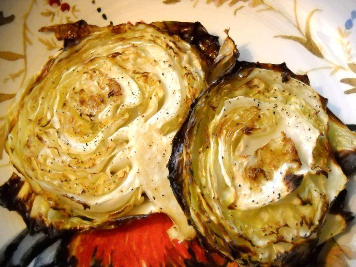 cabbage steak | Veggies | Pinterest