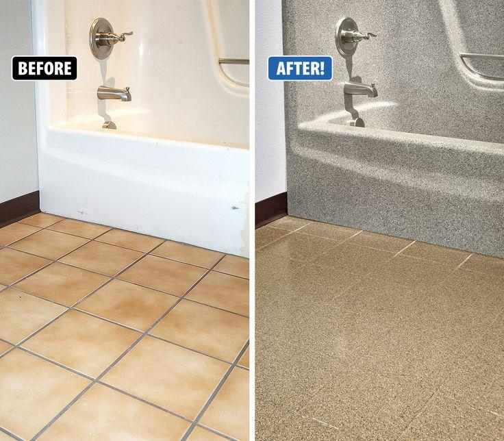 Refinish Ceramic Tile Floor