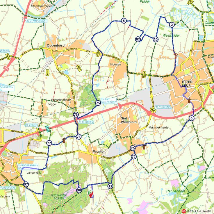 Fietsroute: Sint Willebrord, Etten-Leur en Bosschenhoofd (http://www.route.nl/fietsroutes/135545/Sint-Willebrord-Etten-Leur-en-Bosschenhoofd-/)
