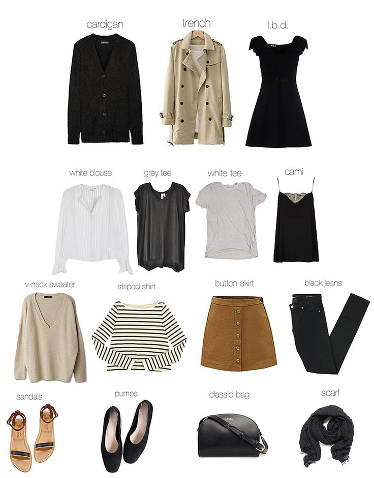 Click on the items to shop! I picked out some timeless essentials for a perfect spring wardrobe. You guys know I like to jazz it up with vintage, but I'd be lost without perfect foundation pieces like