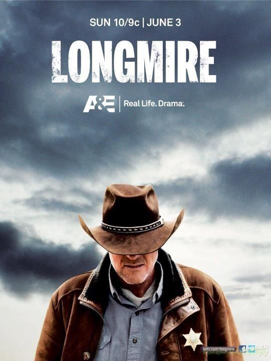 """Longmire is a crime drama television series that premiered on June 3, 2012, on A The series was developed by John Coveny and Hunt Baldwin and is based on the """"Walt Longmire"""" series of mystery novels written by best-selling author Craig Johnson"""