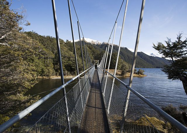 Mararoa Swing Bridge Southland New Zealand