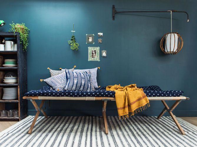 Linspiration du jour la collection bleue de jamini elle décoration
