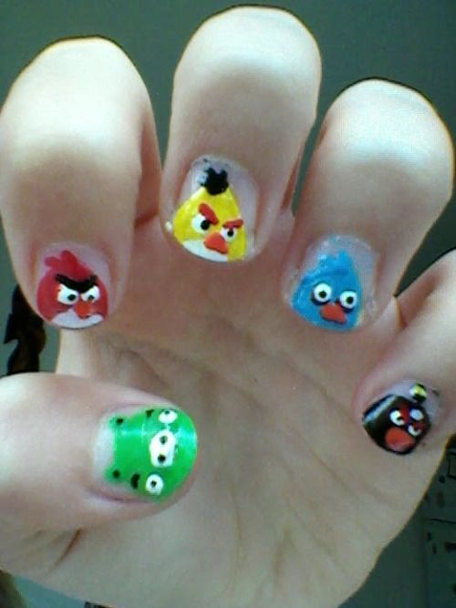 Best 25+ Bird nail art ideas on Pinterest | Divergent nails, Makeup to  cover tattoos uk and Pretty nails - Best 25+ Bird Nail Art Ideas On Pinterest Divergent Nails
