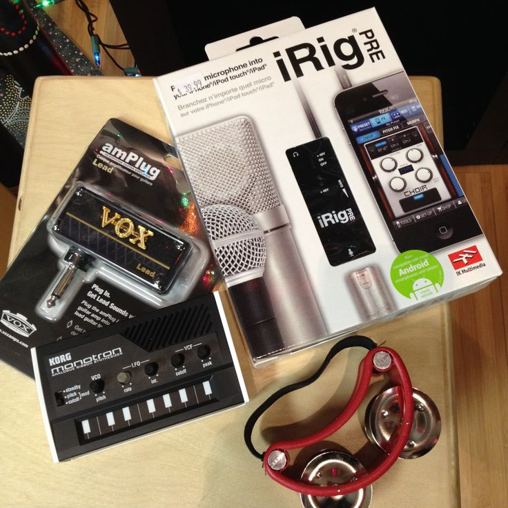 Musical Stocking Stuffer selection! All items under $50.
