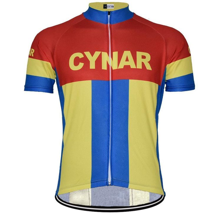 Retro 1964 Cynar Pro Team Cycling Jersey