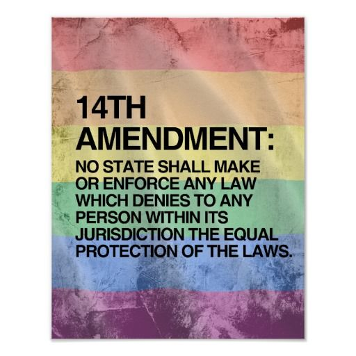 14th amendment gay