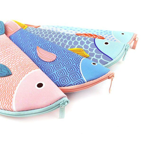 koi Fish Slim Pencil Case