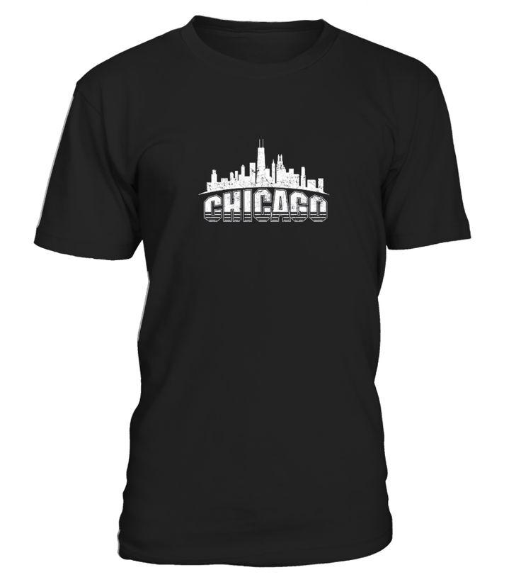 Chicago Shirt Cool Design Gift Shirt  Funny Disability T-shirt, Best Disability T-shirt
