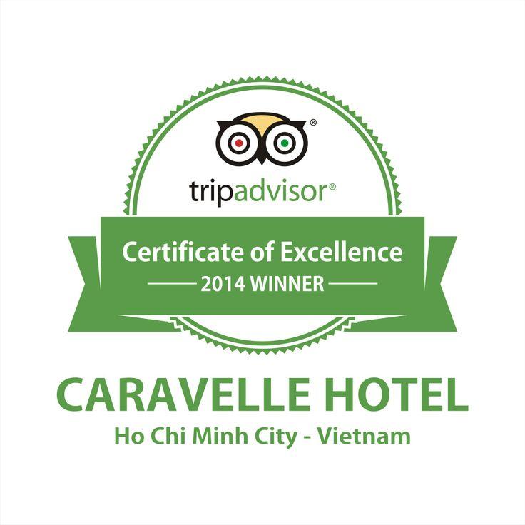 Caravelle Hotel, TripAdvisor Certificate of Excellence, 2014 Winner