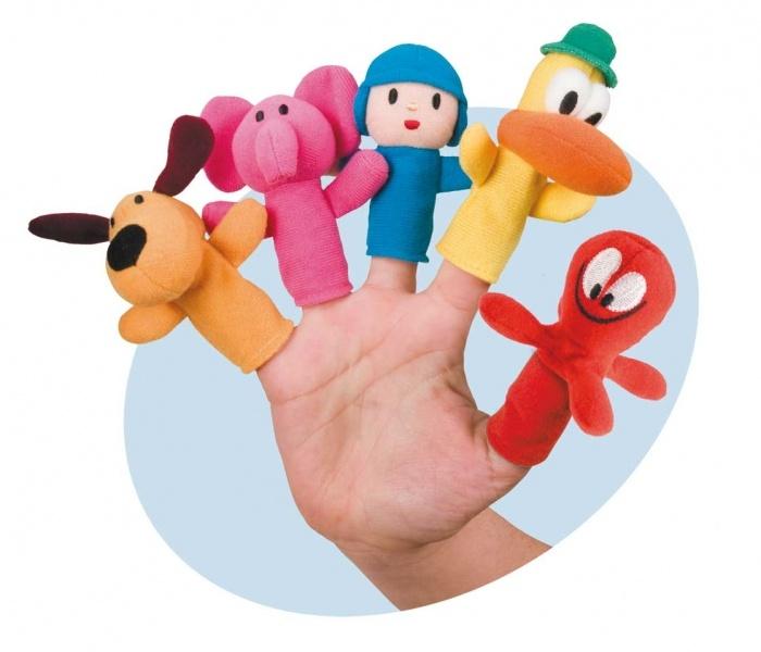 Pocoyo Finger Puppets