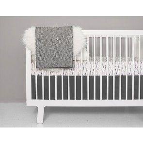 Olli + Lime - Feather Blush Crib Bedding Set