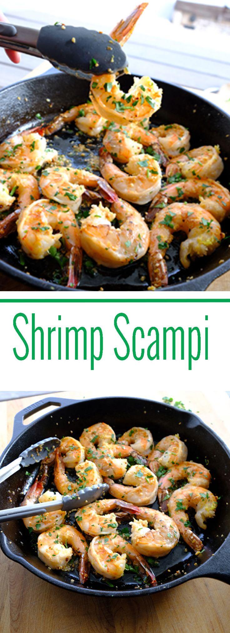 Lemon Shrimp Scampi