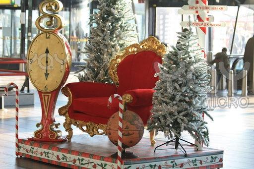 Christmas Santa Chair