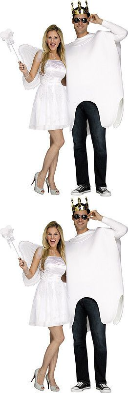 Halloween Costumes Couples: Morris Costumes Adult Unisex Tooth Fairy Tunic Wings Couple Costume. Fw117294 -> BUY IT NOW ONLY: $48.62 on eBay!
