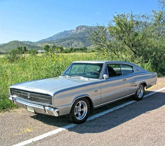1966 Dodge Charger 383 4-speed