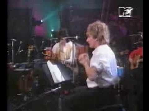 Rod Stewart & Ron Wood - Reason to Believe  (Excellent)