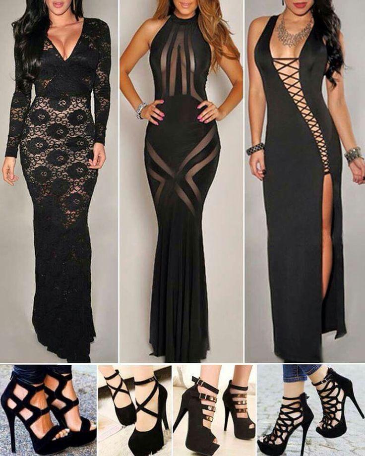 Black white after 5 dresses
