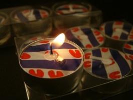 Frisian candle