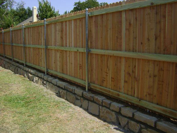 Pin By Circle D Construction On Wood Privacy Fences And