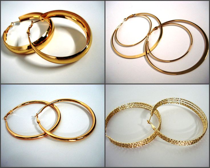 Hoop earrings are indeed a must have item, You just gotta have them... That's it