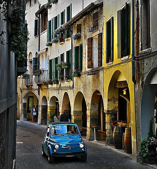 500 in Asolo, Italy  | by © valentina | via ysvoice