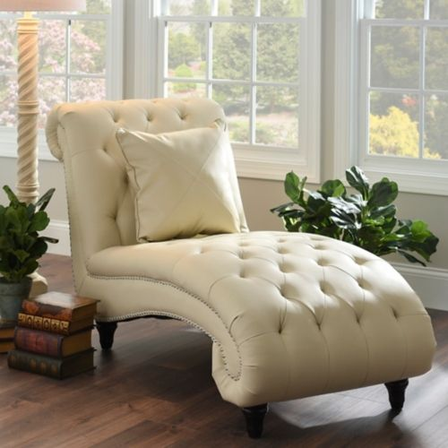 furnitureelegant chaise lounge chair bedroom sitting. bring elegance and charm to your living room seating with the cream leather chaise lounge from kirklands youll love how this piece gives space extra furnitureelegant chair bedroom sitting
