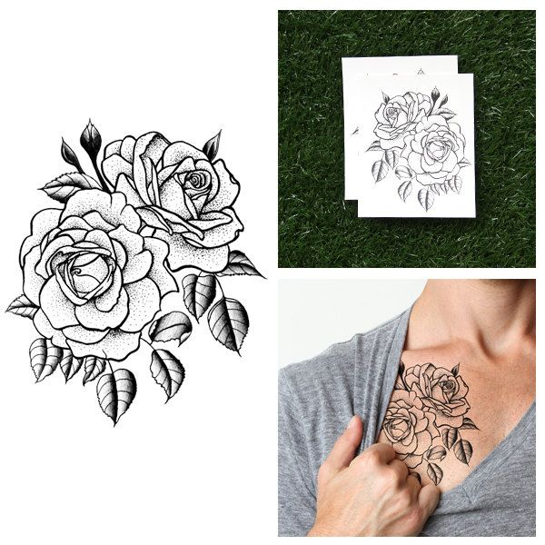 Possible temporary tattoo for forearm