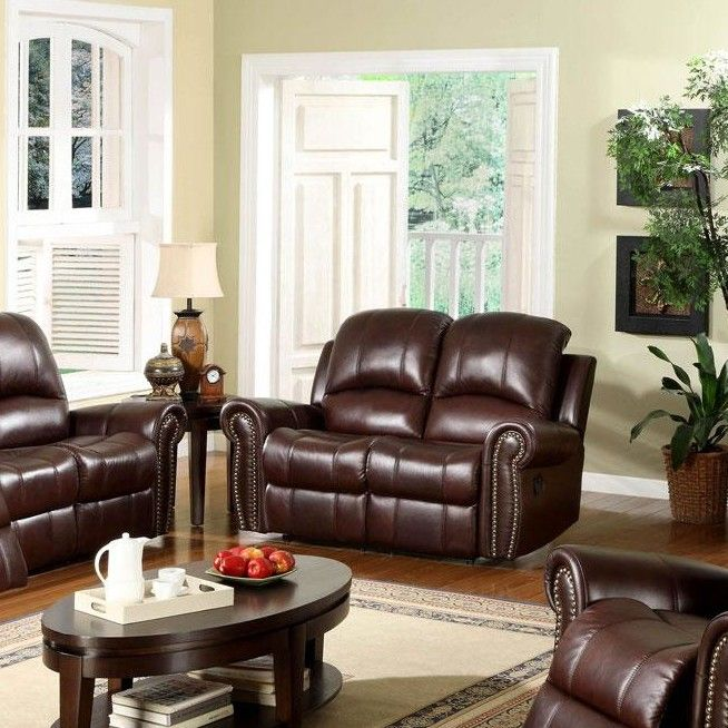 "Sedona 63"" Leather Reclining Loveseat"