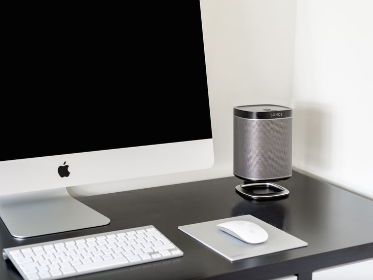 The Flexson Desk Stand For The SONOS PLAY:1. Stylish Speaker Stand Angles  Sound