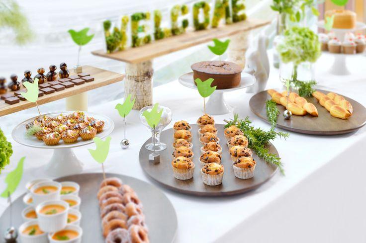 #NOVARESE#dessert#buffet#cake#green#gerdem#natural#rustic