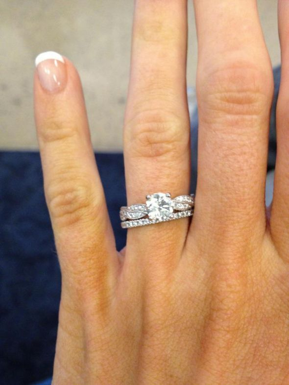 Best 25 Braided Engagement Rings Ideas On Pinterest