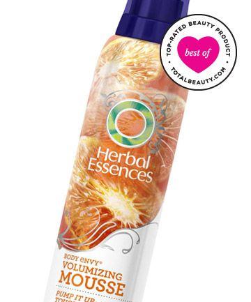 Best Volumizing Product No. 13: Herbal Essences Body Envy Volumizing Mousse, $3.99
