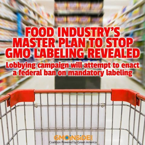 Food Industry's Master Plan To Stop GMO Labeling Revealed. More Here: http://www.origin.salon.com/2013/11/08/food_industrys_master_plan_to_stop_gmo_labeling_revealed: Master Plan, Gmos Ye, Gmo Labels, Gmo News, Gmo Food, Gmo Inside