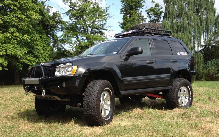"Jeep Grand Cherokee - Prototype JBA 8"" lift kit"