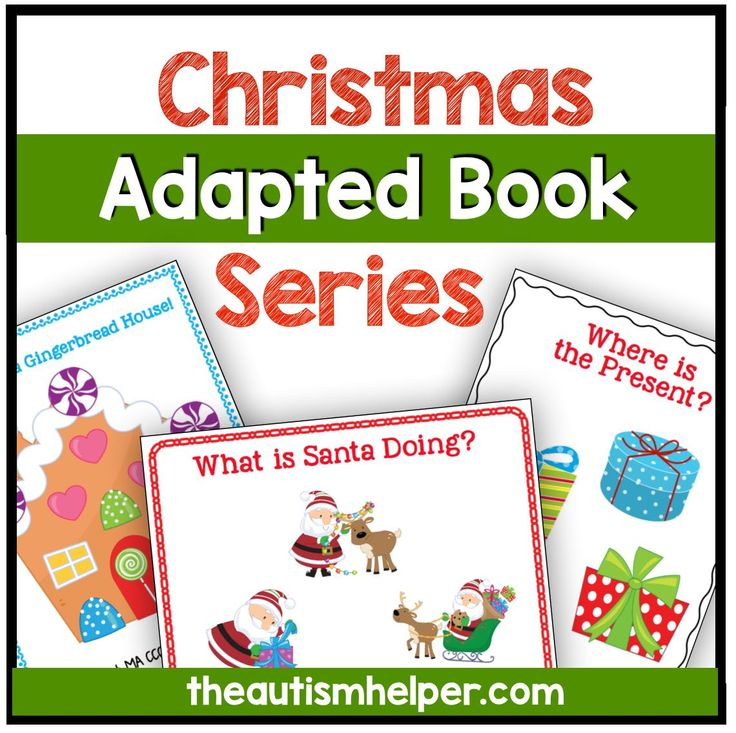 Christmas Adapted Book Series | Prepositions and School