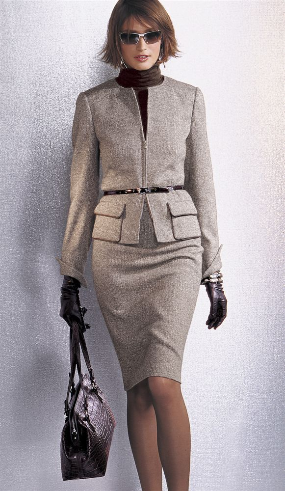 I like this suit and these accessories, except I've never been able to pull off the skinny belt over the jacket thing.