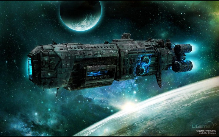 Ogame Spaceship Wallpapers Design