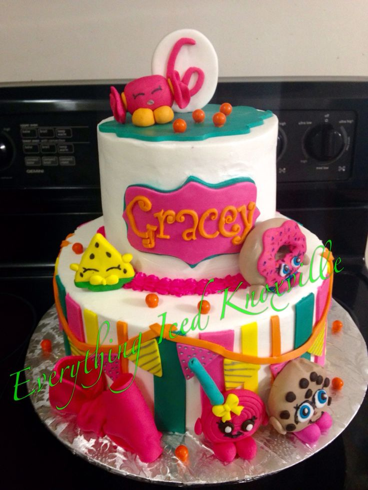 Shopkins Cake Shopkins Birthday Party Shopkins
