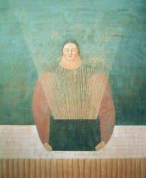 「光る箱」1982年 有元利夫 Toshio Arimoto