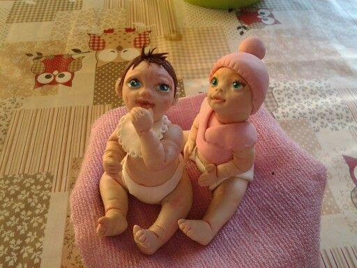 Baby creati con stampi de Il mondo creAttivo di Anto