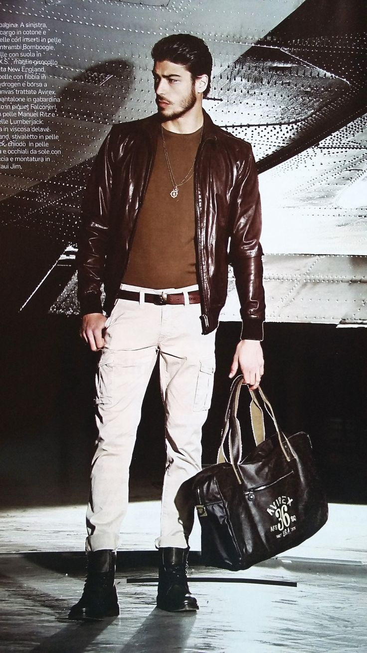 #Avirex Alifax A1 Hand Bag is on Men's Health this month.